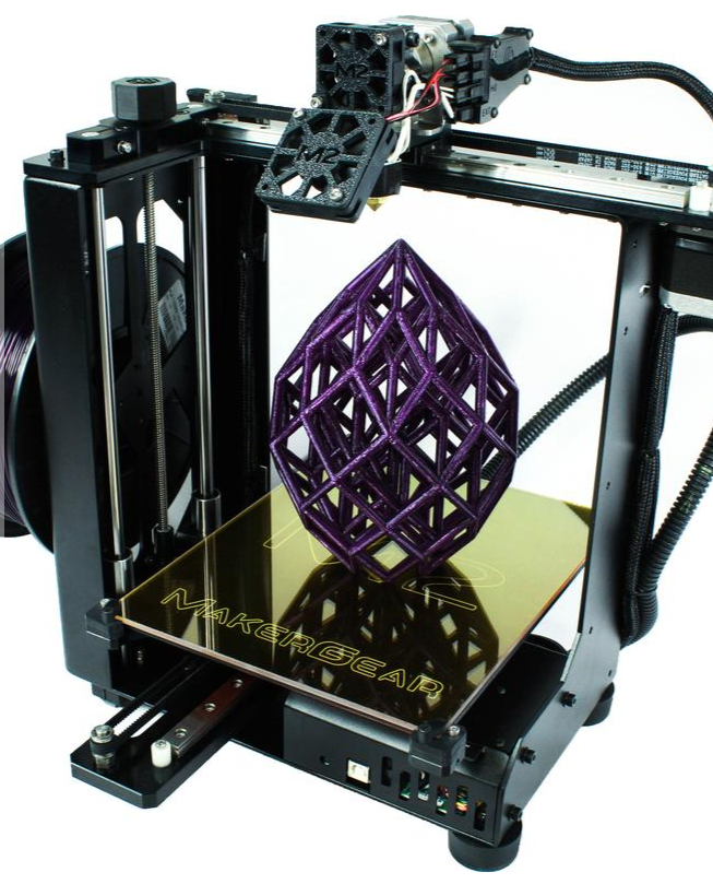 Stock photo of MakerGear M2 3D printer