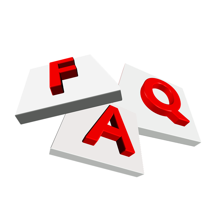 Stock FAQ logo.