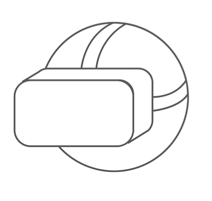 VR icon linking to VR support webpage.